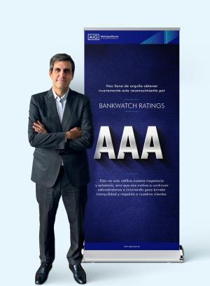 AIG-Metropolitana recibe nuevamente la calificación de riesgo AAA