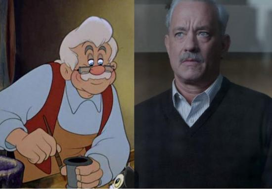 Disney quiere que Tom Hanks sea Geppetto en el remake de Pinocho