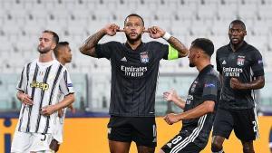 Juventus se despidió en los octavos de final de la Champions League ante Lyon