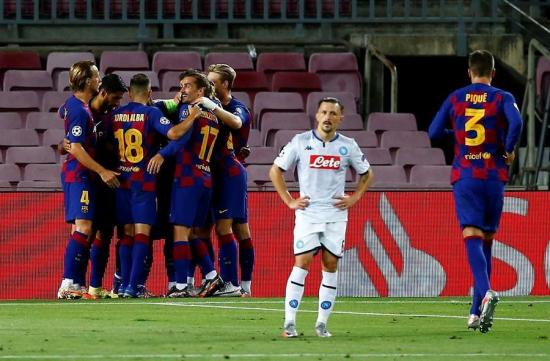 El Barcelona pasa a cuartos gracias a un buen primer tiempo