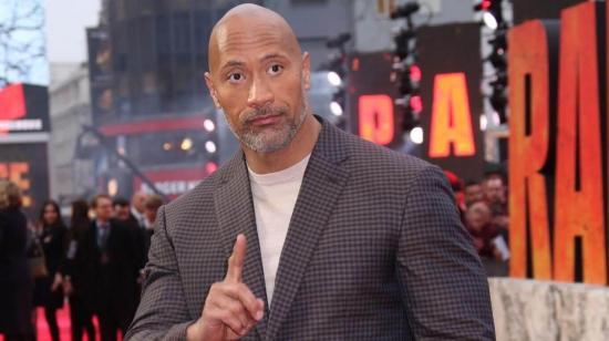 Dwayne Johnson es el actor mejor pagado de Hollywood por segundo año consecutivo