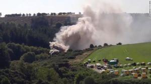 Tres muertos y seis heridos tras descarrilarse un tren en Escocia