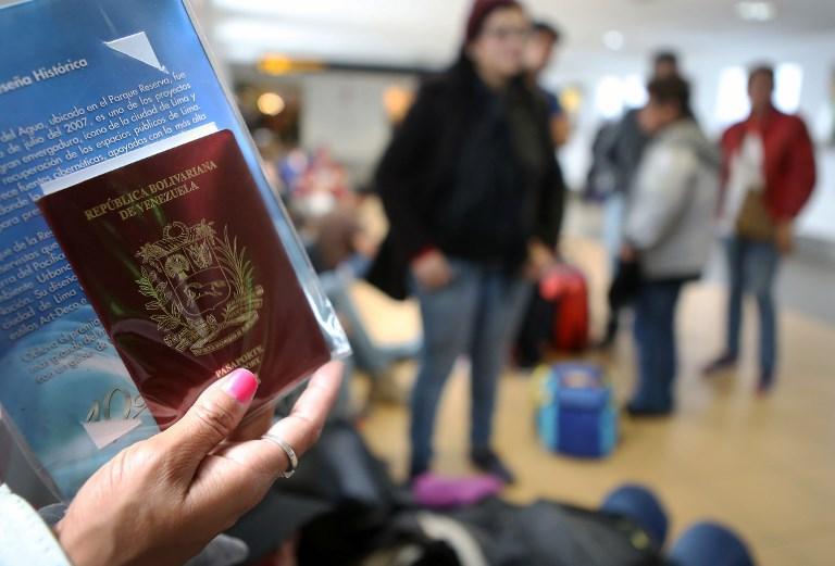 Ecuador pone fin al plazo de visado humanitario para venezolanos