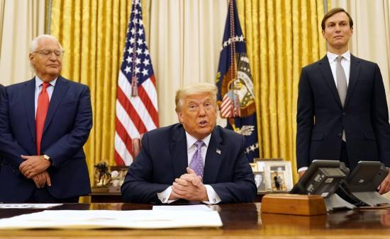 Trump anuncia un 'acuerdo de paz histórico' entre Israel y los Emiratos Árabes Unidos