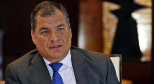 Rafael Correa será candidato a la vicepresidencia de Ecuador