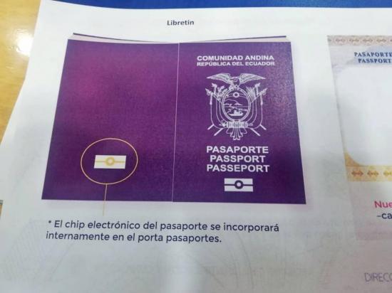 Ecuador empieza a emitir el pasaporte electrónico, requisito para la Unión Europea