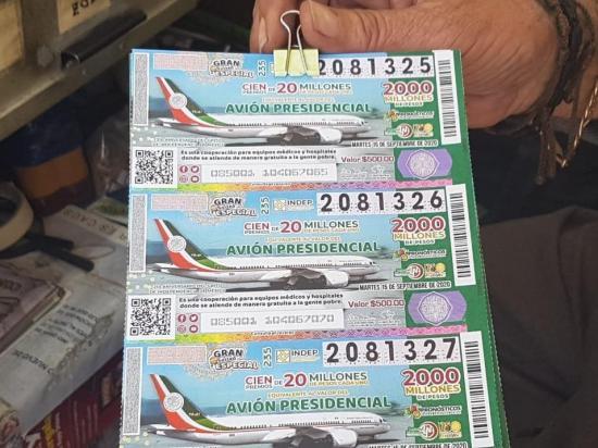 Rifa del avión presidencial de México recauda más de $198 millones