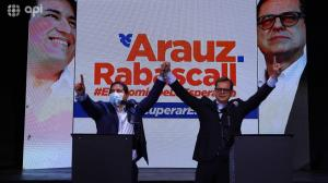 El correísmo presentó al periodista Carlos Rabascall como el binomio de Andrés Arauz
