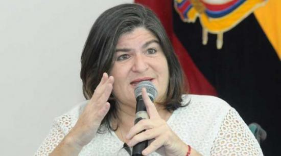 María Elsa Viteri renuncia a la candidatura de vicepresidente de Ecuador un día después de anunciarlo