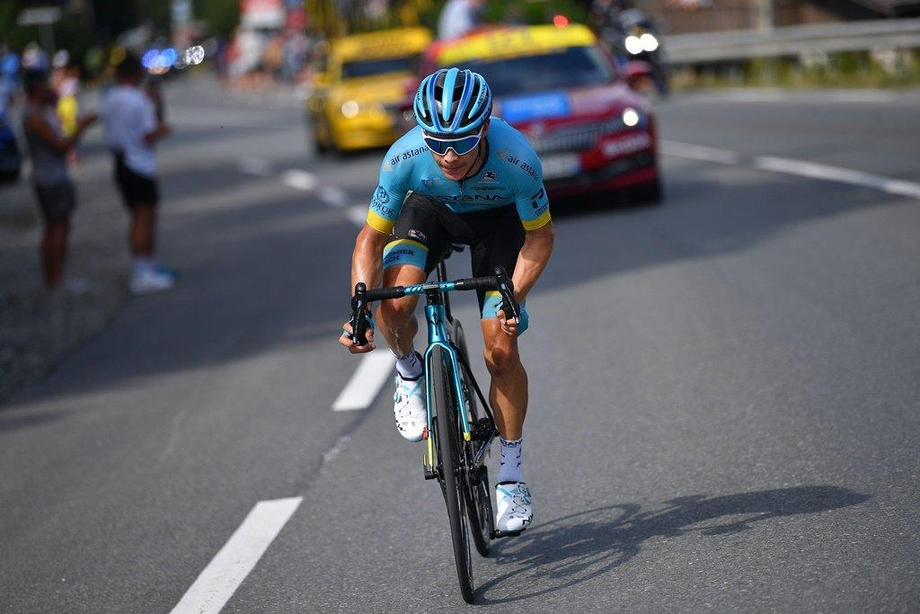 El colombiano Miguel Ángel 'Superman' López se llevó la etapa reina del Tour de Francia 2020