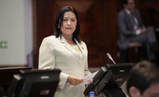 Asamblea decidió levantar la inmunidad parlamentaria a Karina Arteaga