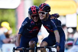 Kwiatkowski gana de la mano de Carapaz, quien quedó en el segundo puesto en el Tour de Francia