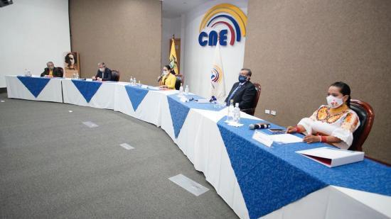 CNE aprueba la resolución de convocatoria de elecciones para el 7 de febrero del 2021