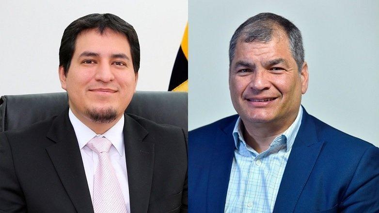 Correa solo caerá del binomio electoral cuando sea descalificado, dice Arauz