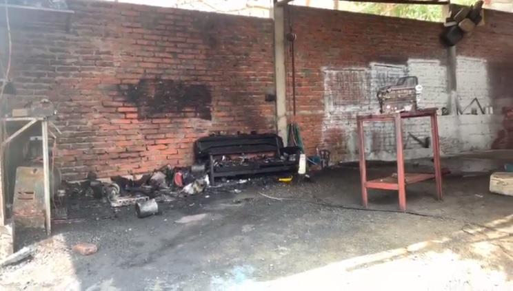 Explosión en un taller deja a una persona con quemaduras de tercer grado en Montecristi