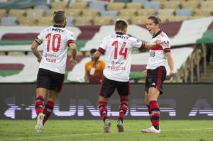 Flamengo envió cuatro jugadores de su base a Ecuador para medir a Barcelona