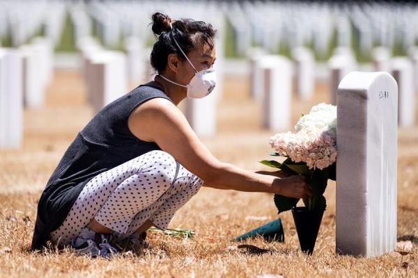 El coronavirus ha matado a más personas en EEUU que las últimas cinco guerras
