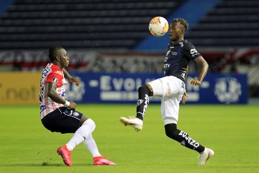Independiente del Valle cae goleado 4-1 en Colombia por Junior