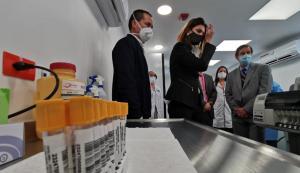 El aeropuerto El Dorado de Bogotá inaugura laboratorio de pruebas de COVID-19