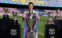 Luis Suárez se despide del FC Barcelona entre lágrimas: 'Se va un ser humano que tiene sentimientos'