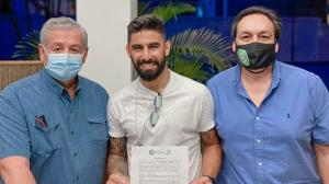 Liga de Portoviejo anuncia finiquito con Maximiliano Barreiro