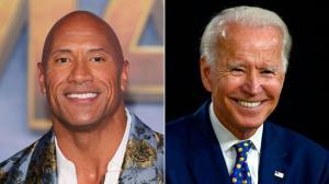 Dwayne 'The Rock' Johnson anuncia que apoyará a Biden en las elecciones