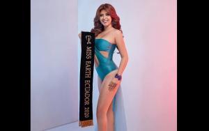 La manabita Gabriela Monsalve es la nueva Miss Earth Ecuador