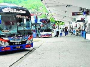 Hombre que robaba piezas de buses fue detenido en la terminal terrestre de Portoviejo