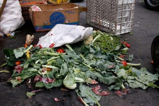 En Ecuador se desperdician 939.000 toneladas de alimentos al año