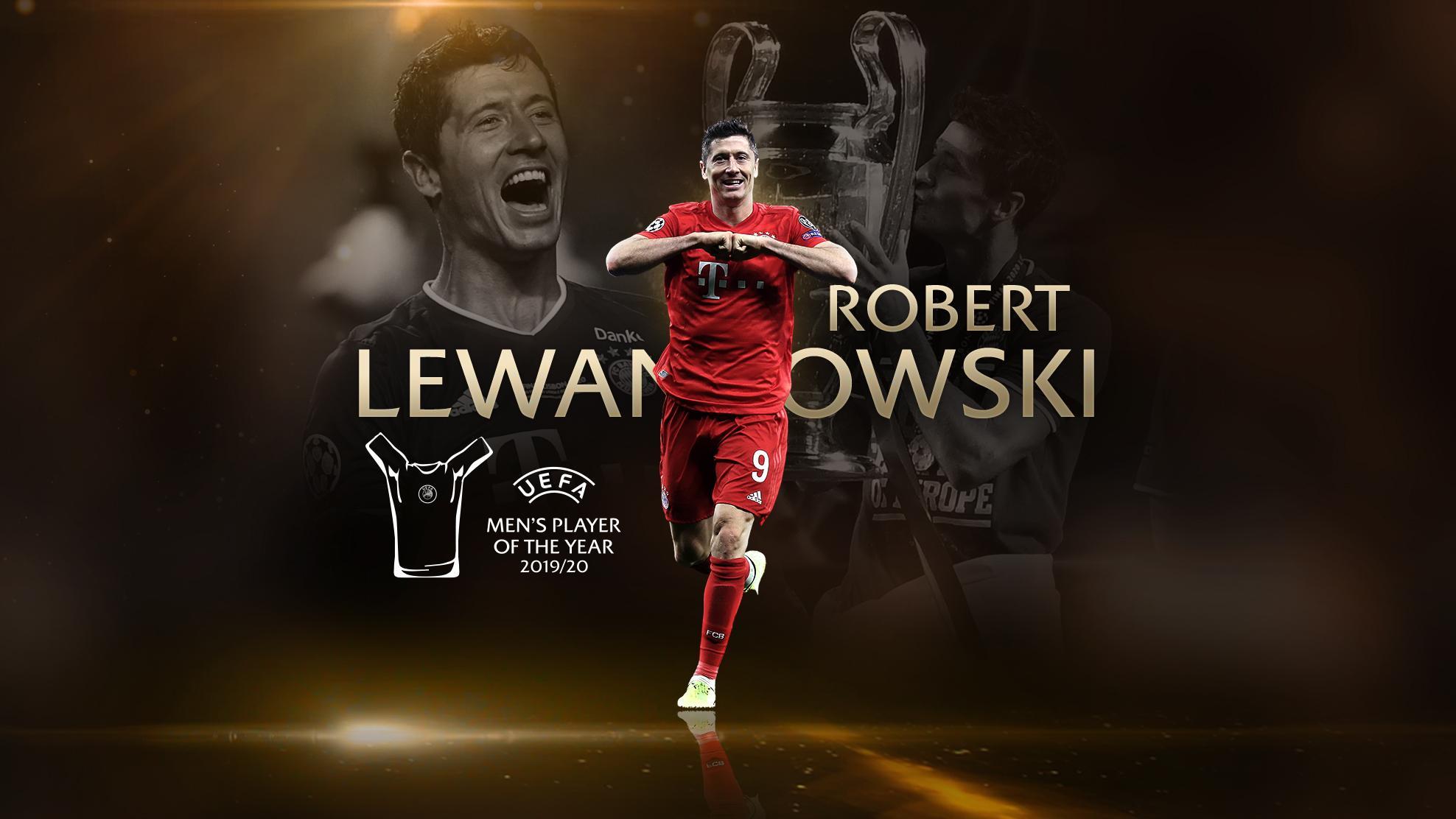 Robert Lewandowski, elegido mejor jugador de la última Liga de Campeones