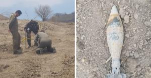 Realizan la detonación controlada del proyectil de mortero hallado en Rocafuerte