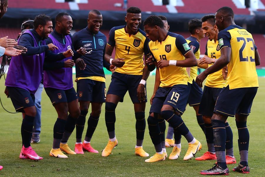 ¡ALEGRÍA TRICOLOR! Ecuador vence por 4-2 a Uruguay en el estadio Casa Blanca
