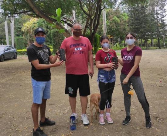 Colectivo Manabita Sustentable Invita a adoptar árboles