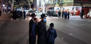 Nueva York ordena detener la masiva boda del nieto de un rabino por la covid
