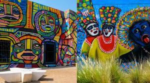 Un barrio colombiano quiere ser el museo a cielo abierto más grande del mundo