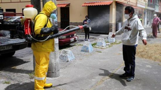 Ecuador reporta 153.423 positivos y 12.395 fallecidos acumulados por covid-19