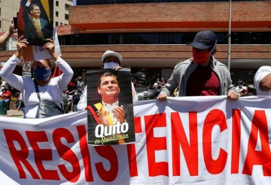 Movimiento de Correa aspira a replicar en Ecuador el triunfo del MAS en Bolivia