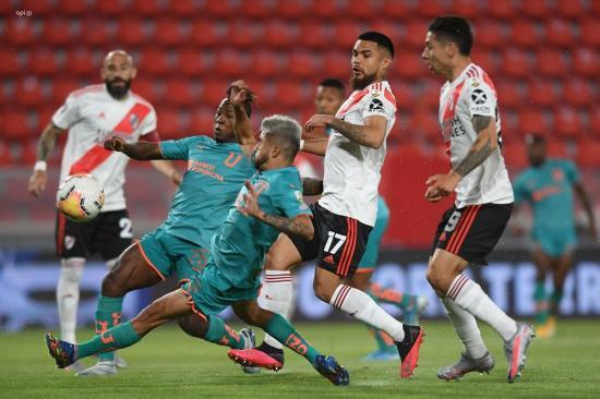 River desaloja a Liga de Quito del liderato del Grupo D (3-0)