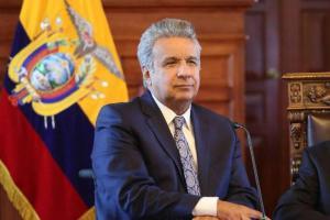 Lenín Moreno felicita al candidato boliviano Luis Arce