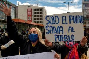 Ecuador se alista para una jornada de protestas sociales este jueves