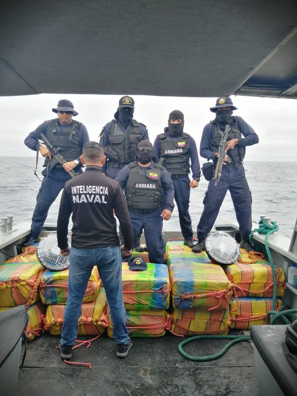 Carga de droga será destruida en Quito