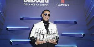 Daddy Yankee y Bad Bunny reinan en los Latin Billboards
