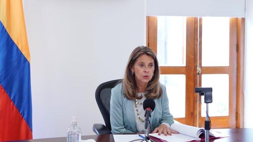 La vicepresidenta colombiana da positivo para el covid-19
