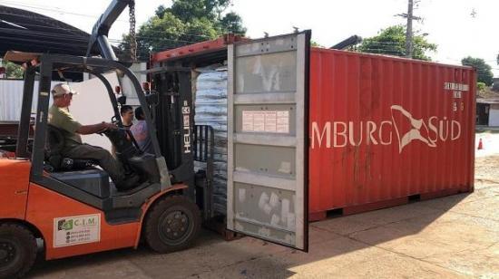 Hallan 7 muertos en un contenedor en Asunción que serían inmigrantes ilegales