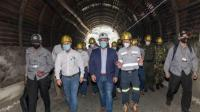 Inauguran la primera mina subterránea de oro a gran escala de Colombia