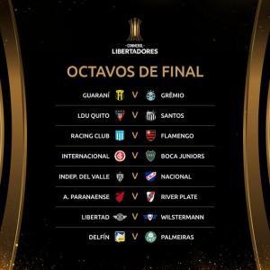 Los equipos ecuatorianos ya tienen rival para enfrentarse a los octavos de final de la Copa Libertadores
