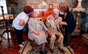 Fallece en Ecuador el marido de la pareja de casados más longeva del mundo