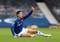 James Rodríguez supera sus problemas físicos y es titular contra el Southampton