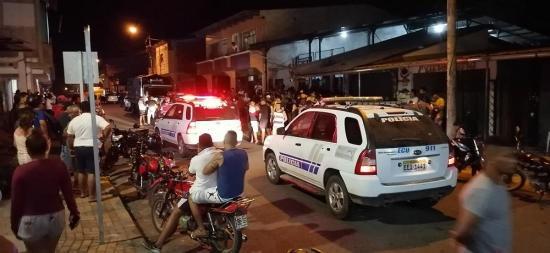 Motorizado fue asesinado en la parroquia La Unión, de Quinindé