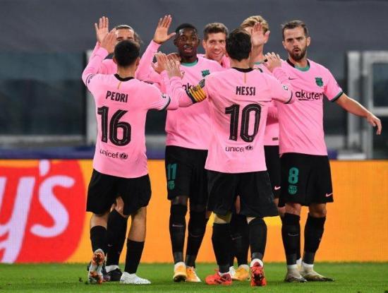 Dembelé y Messi plasmaron la superioridad del Barcelona frente a la Juventus